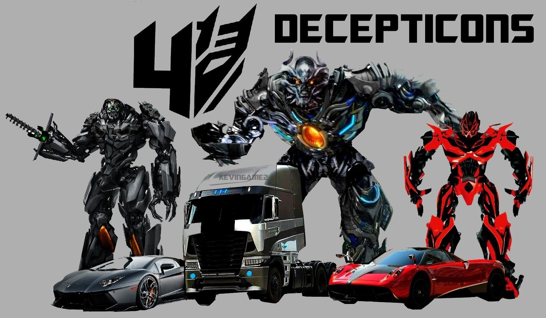 Transformers 4 Autobots and Decepticons Names