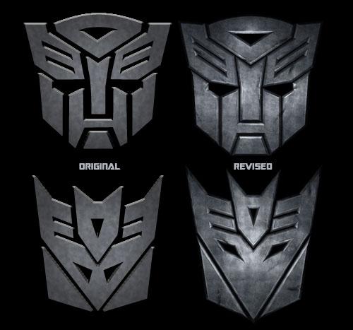 Transformers Autobots and Decepticons Symbols