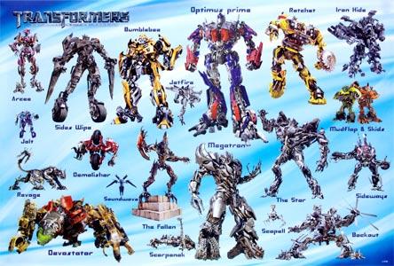 Transformers Autobots Vs. Decepticons