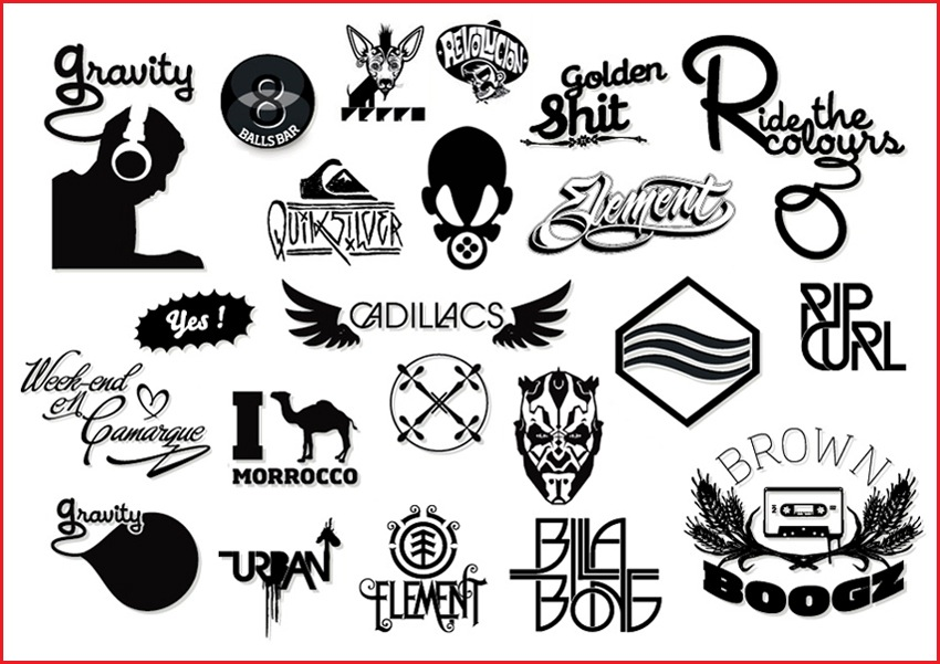 15 Version Of A Vector Logo Images - Shutterstock Logo ...