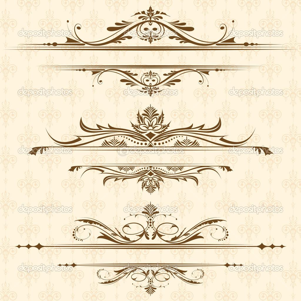 16 vintage border designs vector images vintage frame