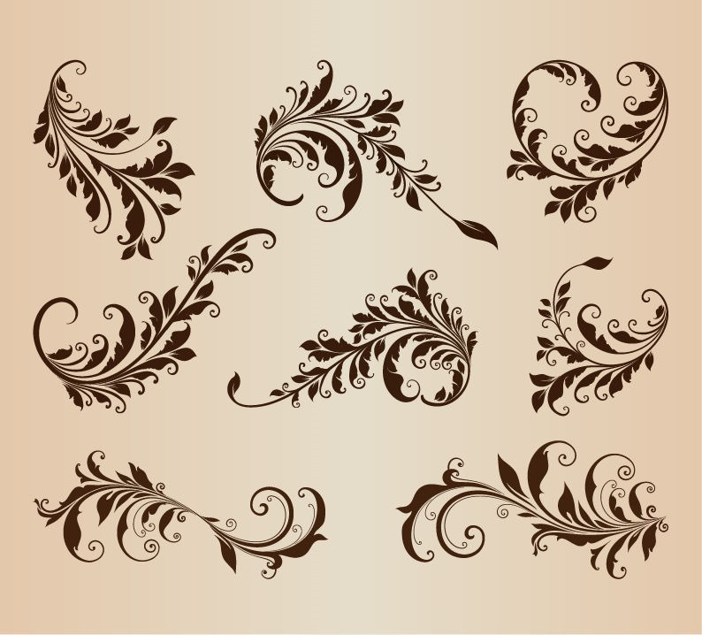 Vintage Vector Design Elements