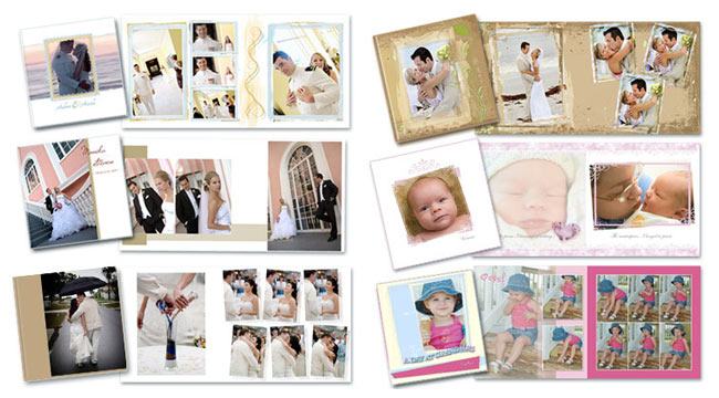 Wedding Album Layout Templates
