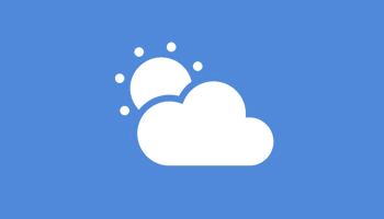Windows Desktop Weather Icon