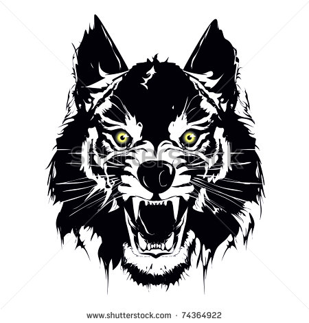 6 She Wolf Vector Images